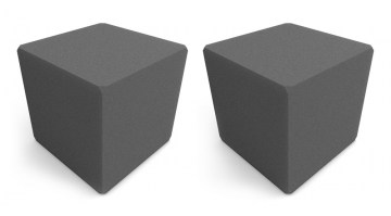 Comet Cubes (2 pack) in Charcoal