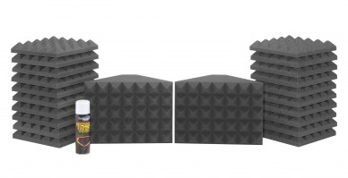 Saturn 1 Acoustic Treatment Room Kit - Charcoal