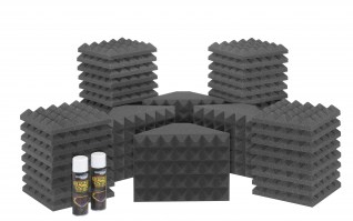 Saturn 2 Acoustic Treatment Room Kit - Charcoal