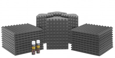 Saturn 3 Acoustic Treatment Room Kit - Charcoal